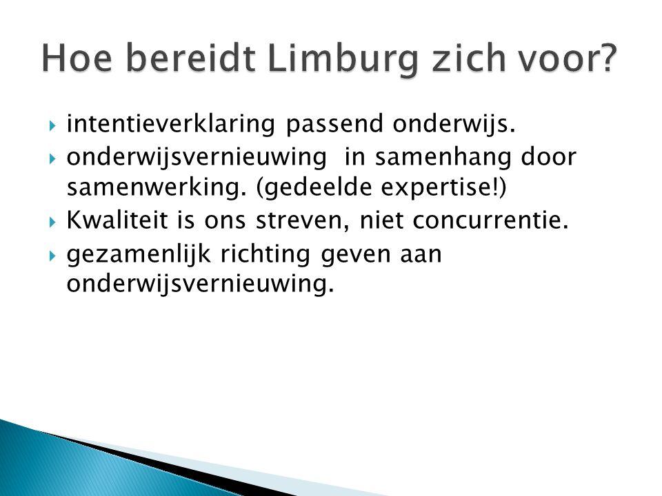 Hoe bereidt Limburg zich voor