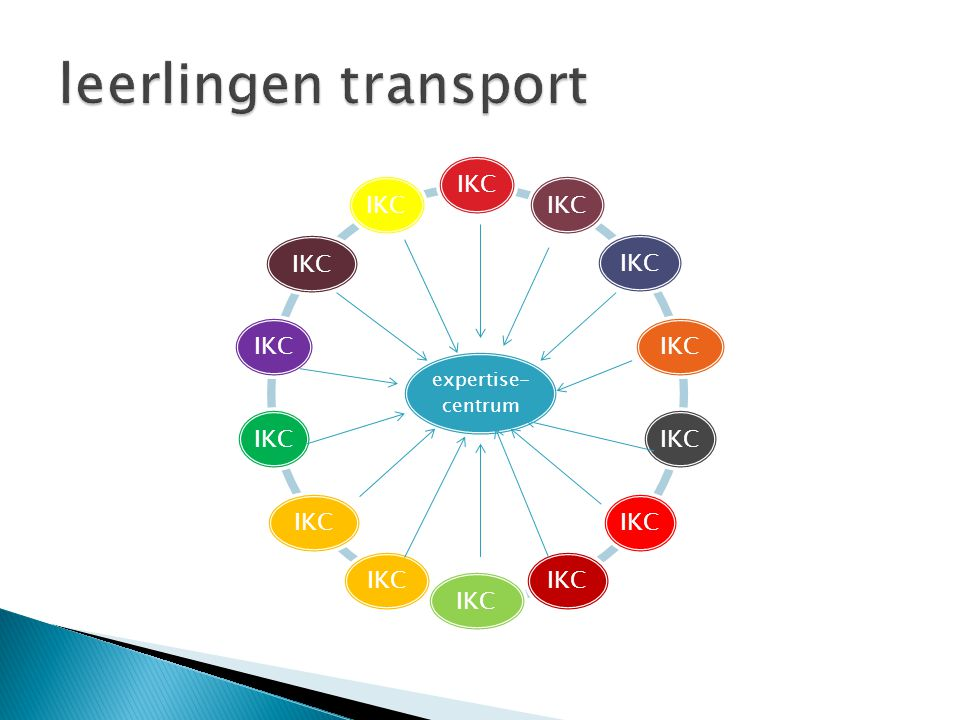 leerlingen transport expertise-centrum IKC