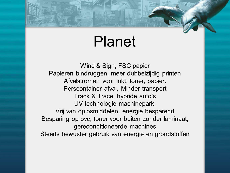Planet Wind & Sign, FSC papier