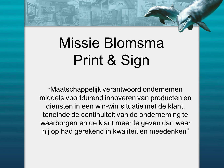 Missie Blomsma Print & Sign