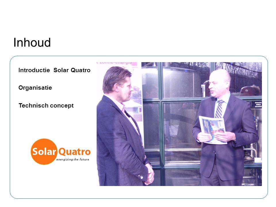 Inhoud Introductie Solar Quatro Organisatie Technisch concept 1
