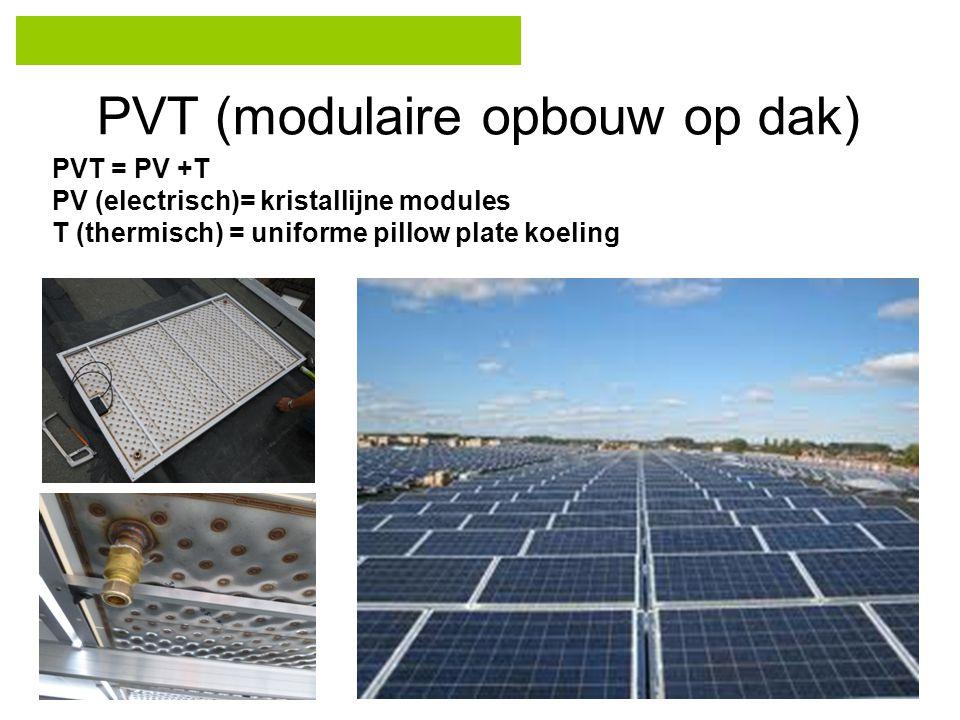 PVT (modulaire opbouw op dak)