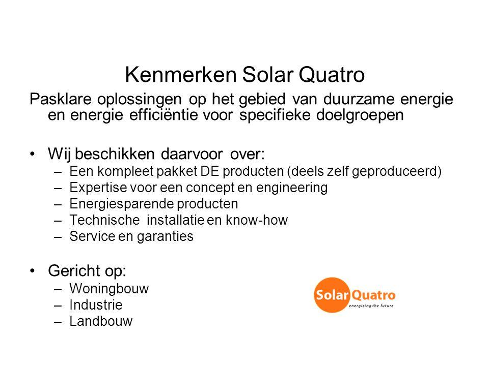 Kenmerken Solar Quatro
