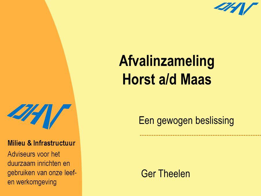 Afvalinzameling Horst a/d Maas