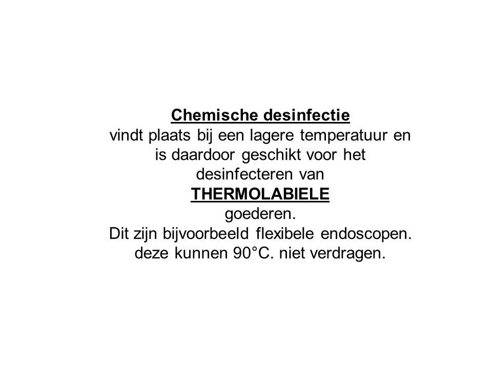 Chemische desinfectie