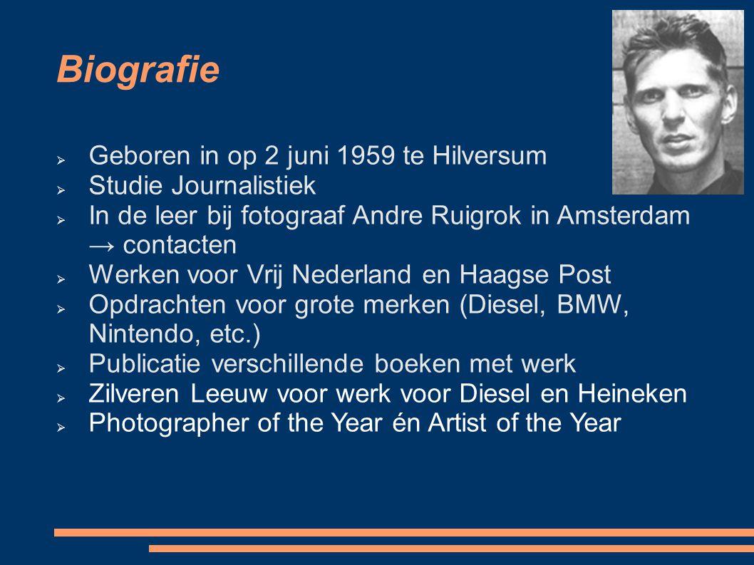 Biografie Geboren in op 2 juni 1959 te Hilversum Studie Journalistiek