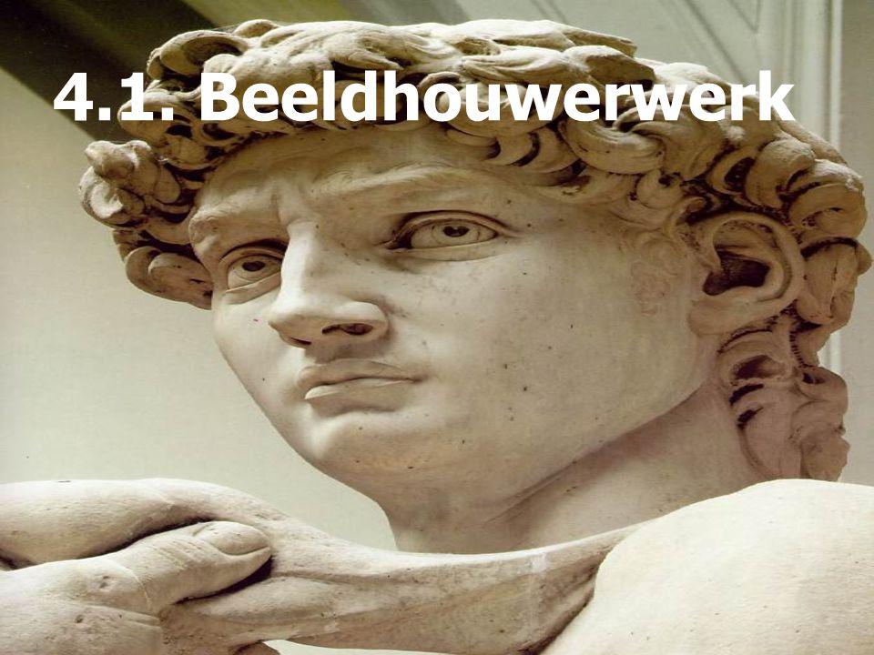 4.1. Beeldhouwerwerk