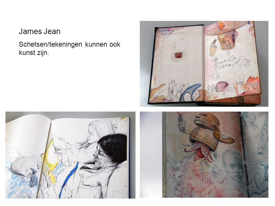James Jean Schetsen/tekeningen kunnen ook kunst zijn.