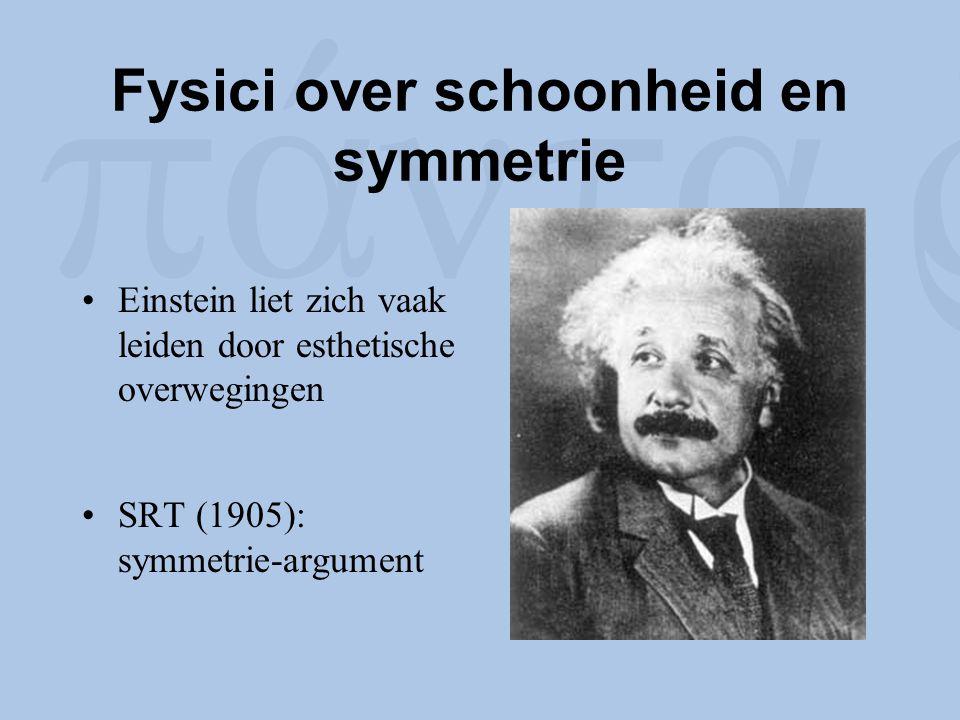 Fysici over schoonheid en symmetrie