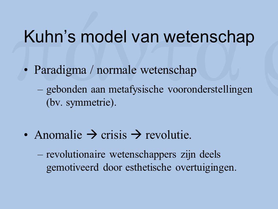 Kuhn's model van wetenschap