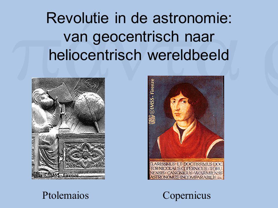Revolutie in de astronomie: van geocentrisch naar heliocentrisch wereldbeeld