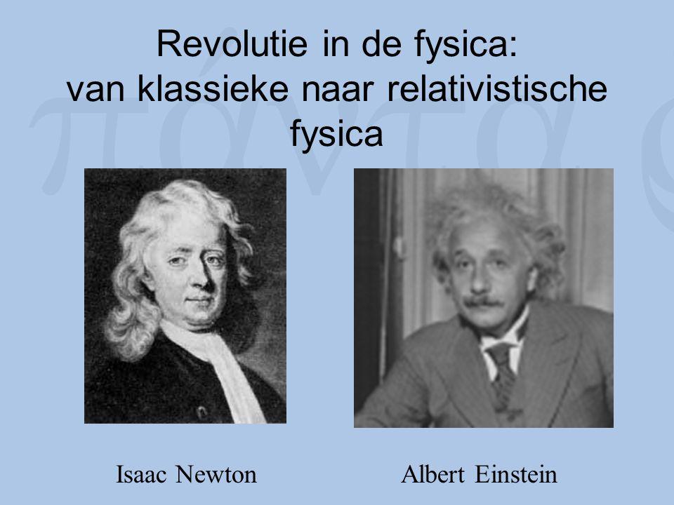 Revolutie in de fysica: van klassieke naar relativistische fysica