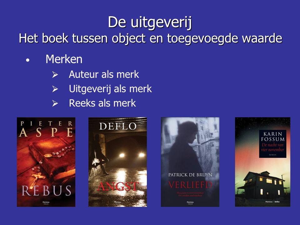 De uitgeverij Het boek tussen object en toegevoegde waarde