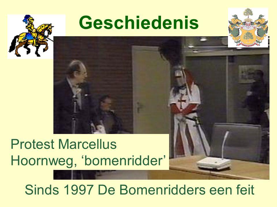 Geschiedenis Protest Marcellus Hoornweg, 'bomenridder'