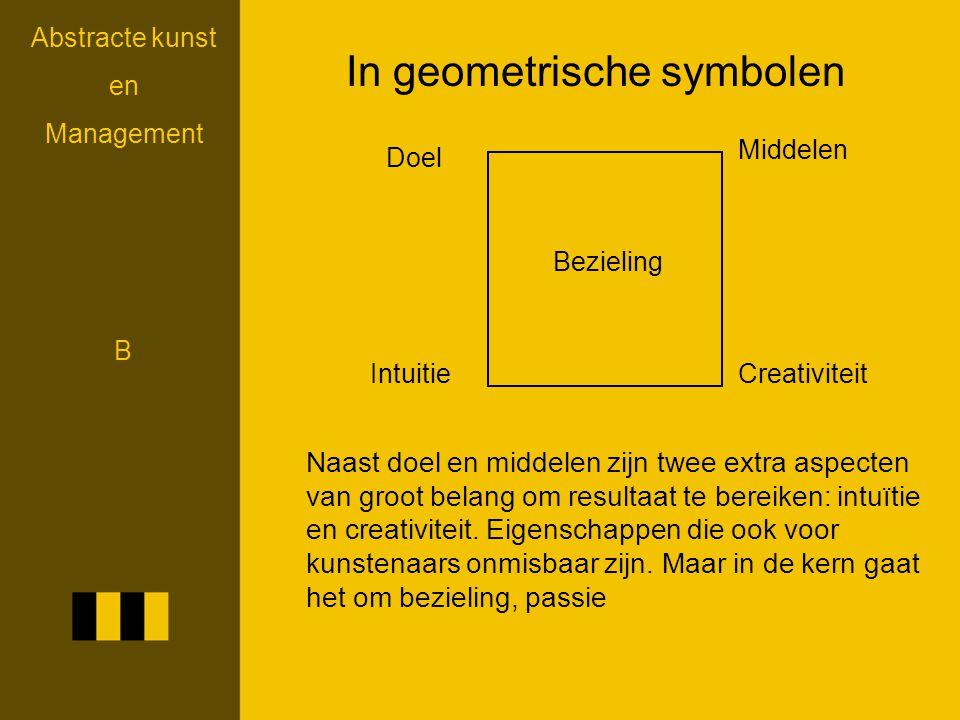 In geometrische symbolen