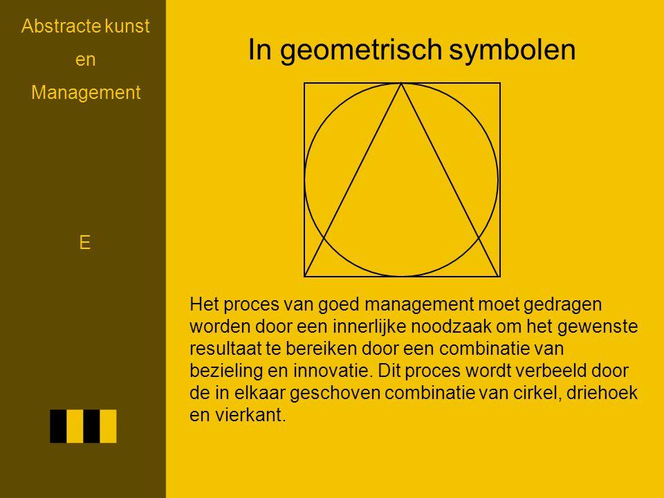 In geometrisch symbolen