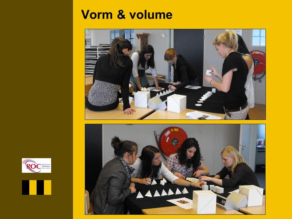 Vorm & volume