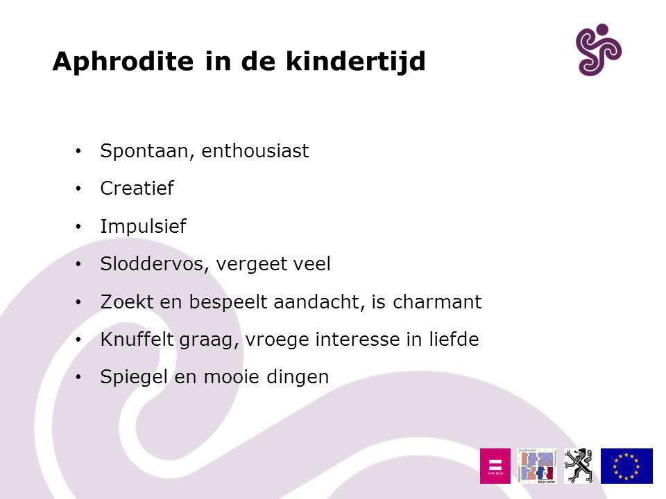 Aphrodite in de kindertijd