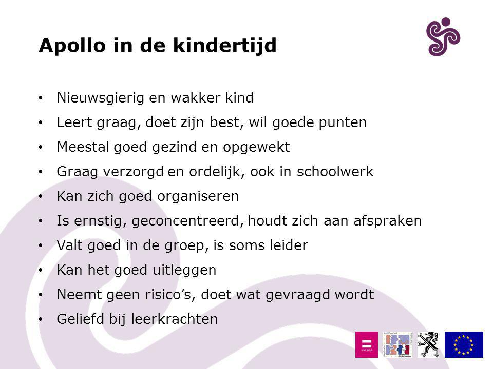 Apollo in de kindertijd
