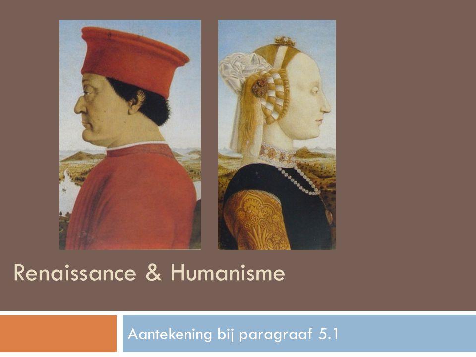 Renaissance & Humanisme