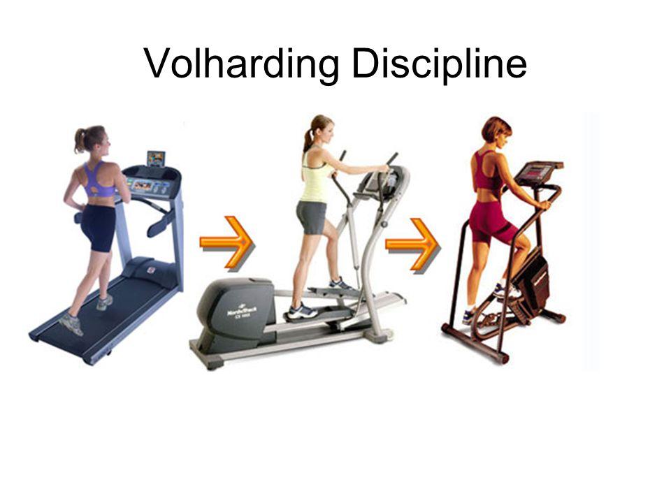 Volharding Discipline