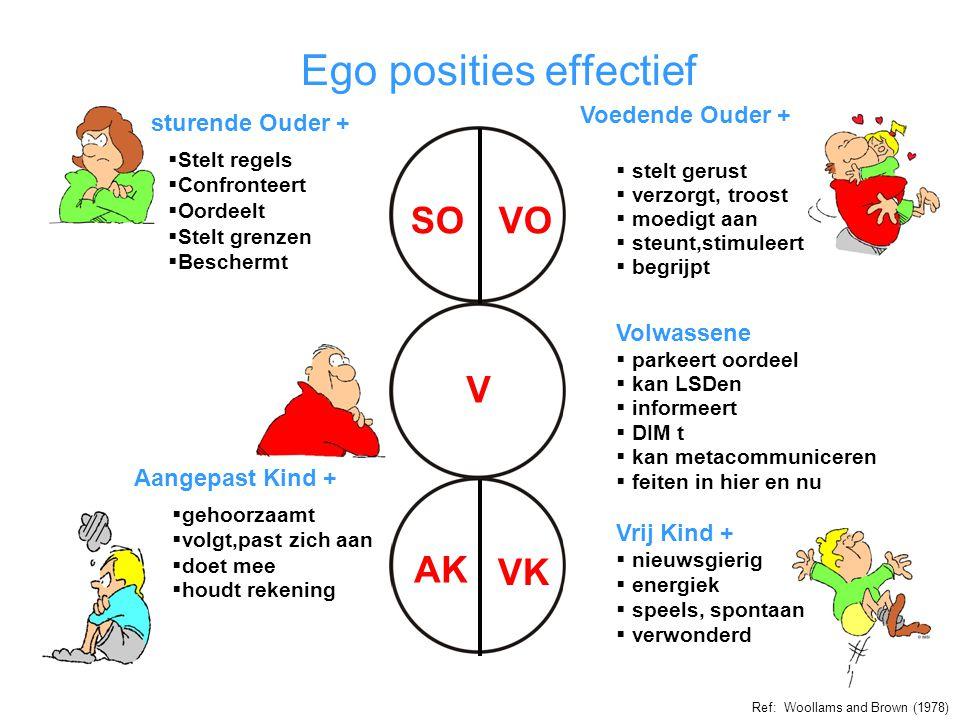 Ego posities effectief