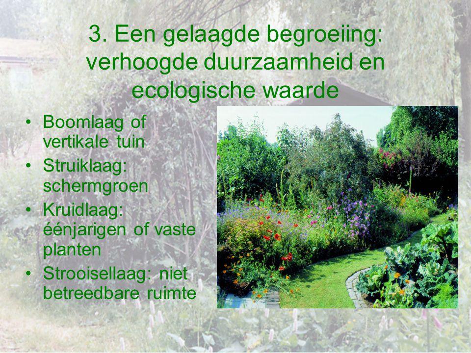 3. Een gelaagde begroeiing: verhoogde duurzaamheid en ecologische waarde