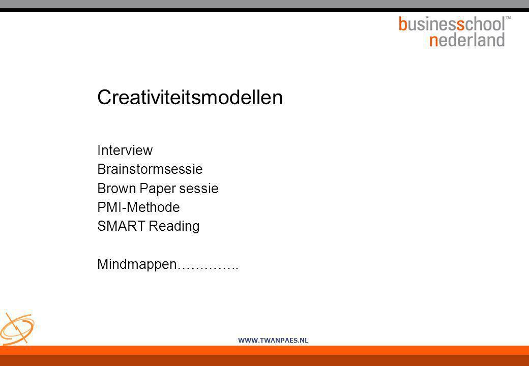 Creativiteitsmodellen