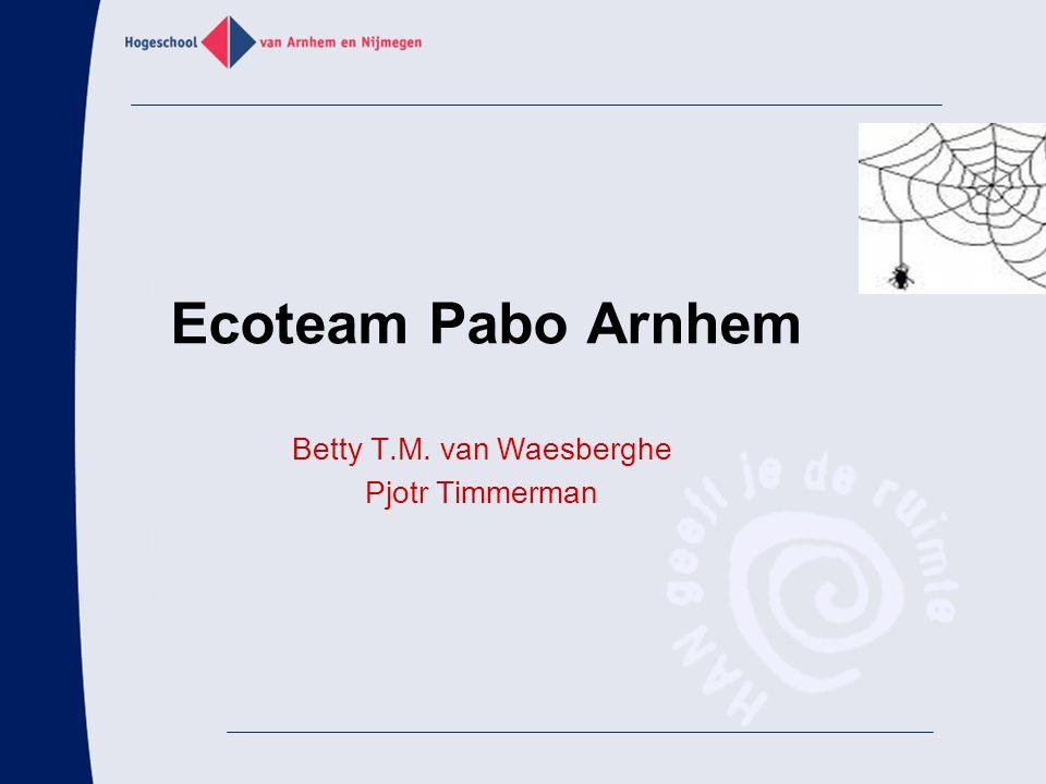 Betty T.M. van Waesberghe Pjotr Timmerman