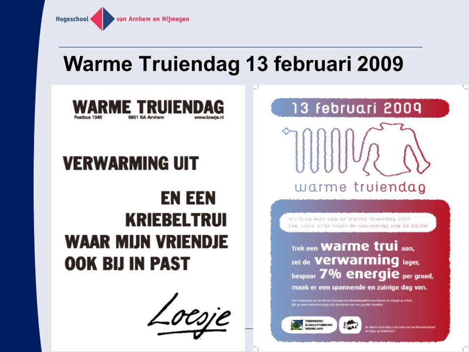 Warme Truiendag 13 februari 2009