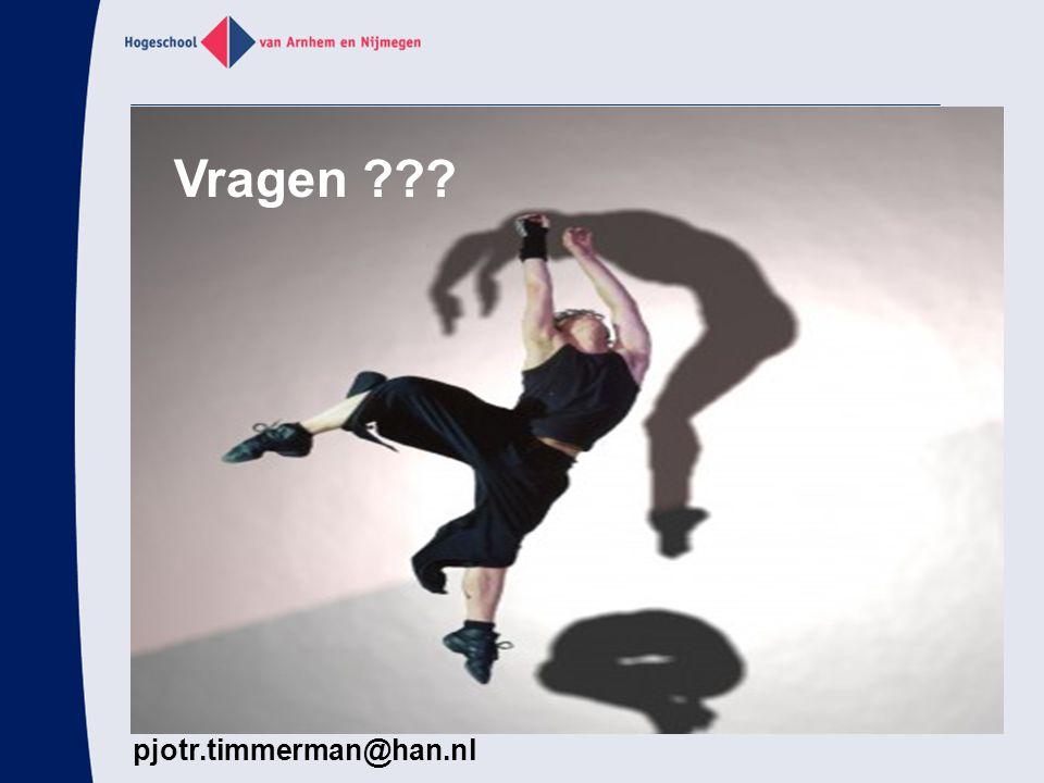 Vragen pjotr.timmerman@han.nl