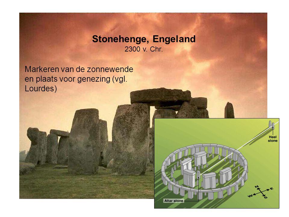Stonehenge, Engeland Markeren van de zonnewende