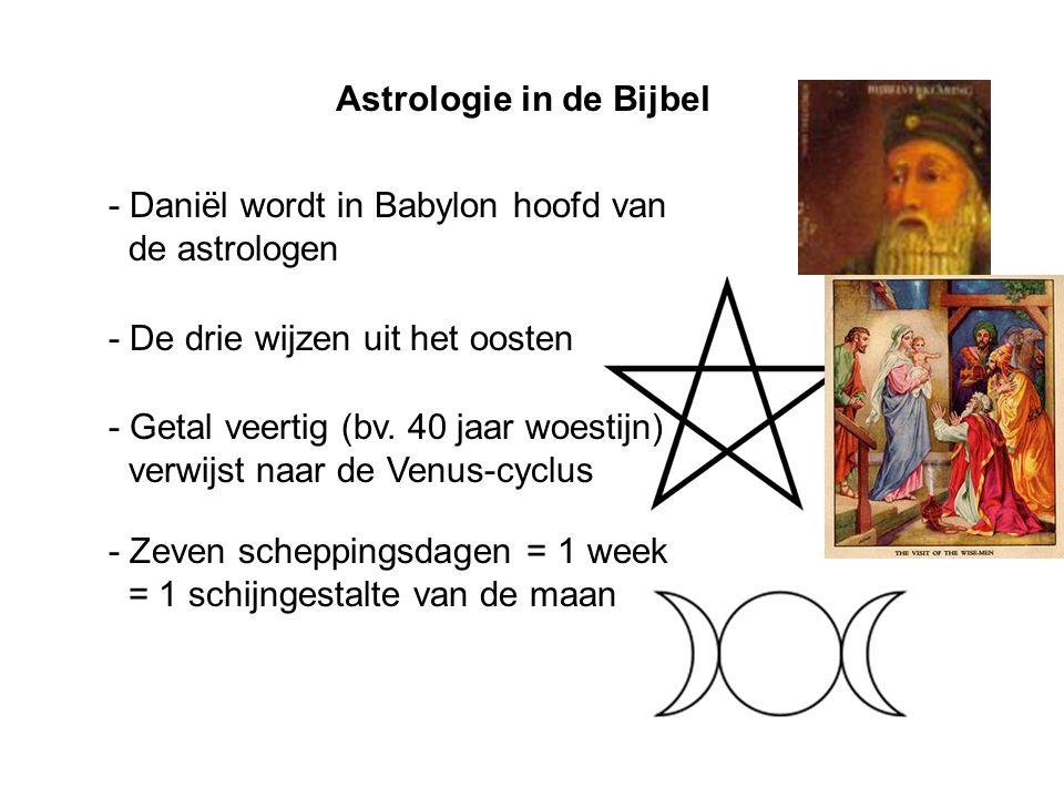 Astrologie in de Bijbel