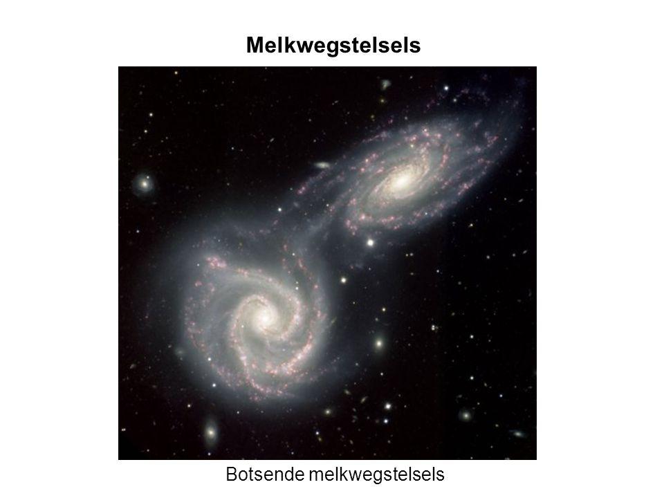 Botsende melkwegstelsels