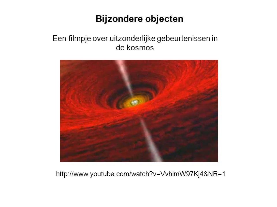Een filmpje over uitzonderlijke gebeurtenissen in de kosmos