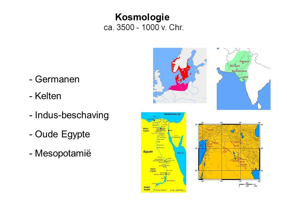 Kosmologie - Germanen - Kelten - Indus-beschaving - Oude Egypte