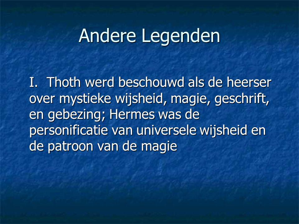 Andere Legenden