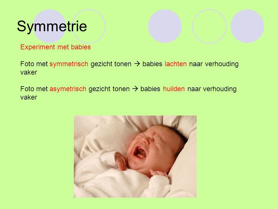 Symmetrie Experiment met babies
