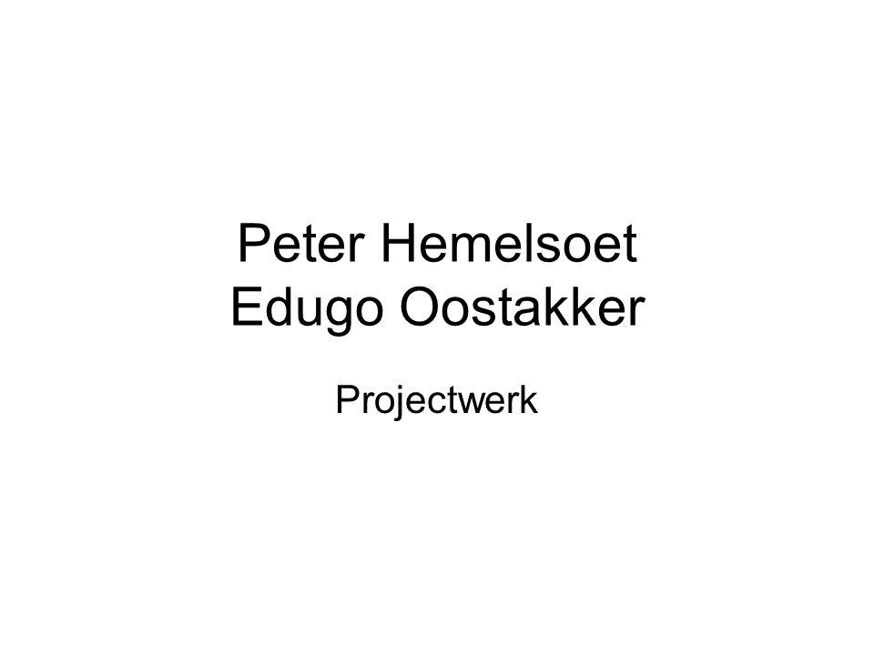 Peter Hemelsoet Edugo Oostakker