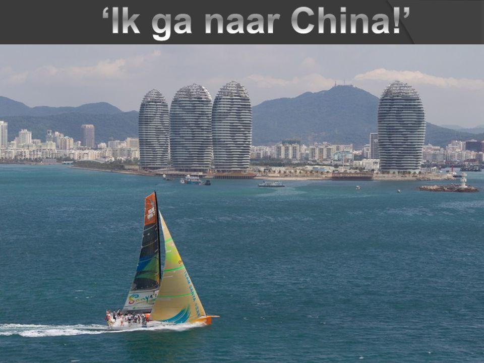 'Ik ga naar China!'