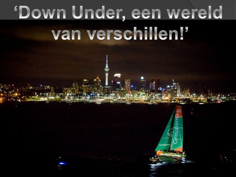 'Down Under, een wereld van verschillen!'