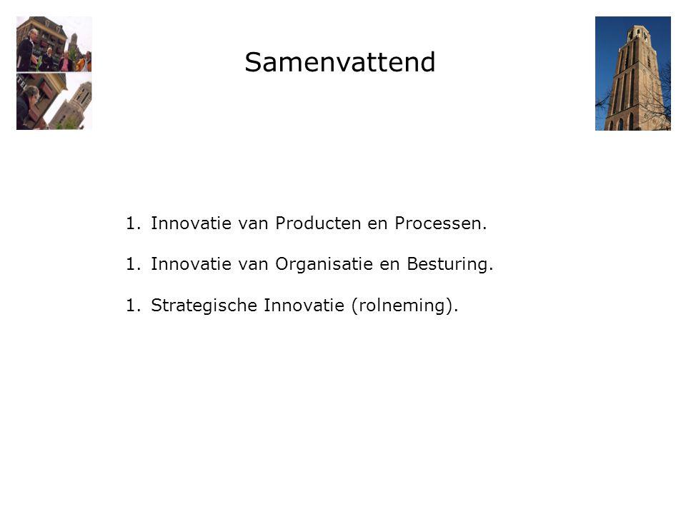 Samenvattend Innovatie van Producten en Processen.