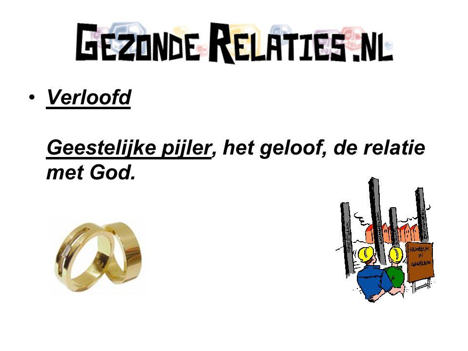Verloofd Geestelijke pijler, het geloof, de relatie met God.