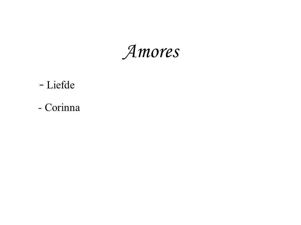 Amores Liefde Corinna