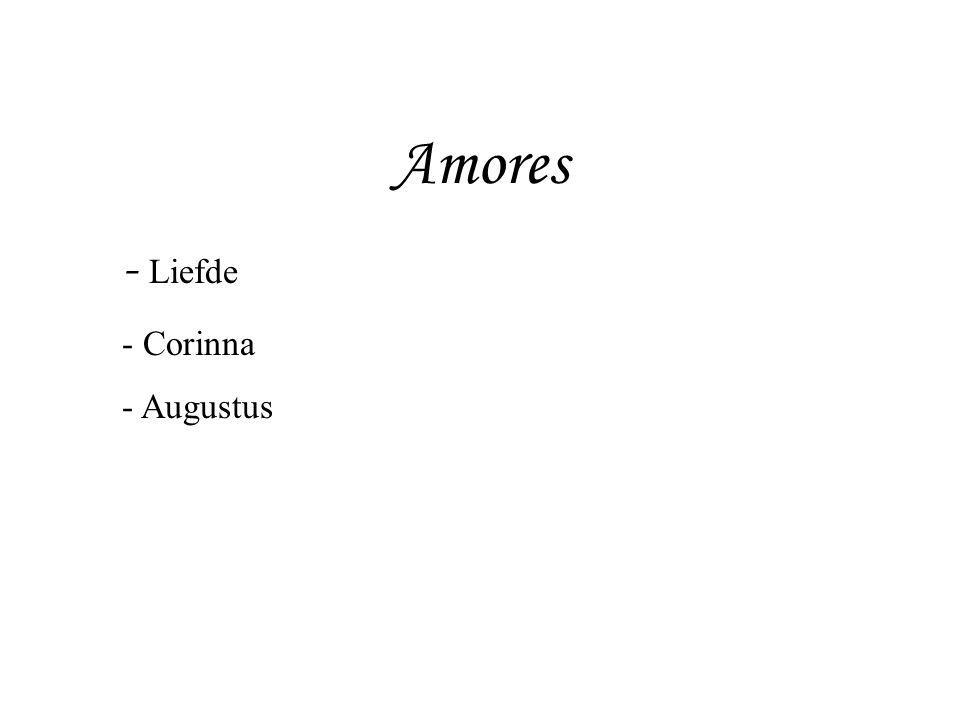 Amores Liefde Corinna Augustus