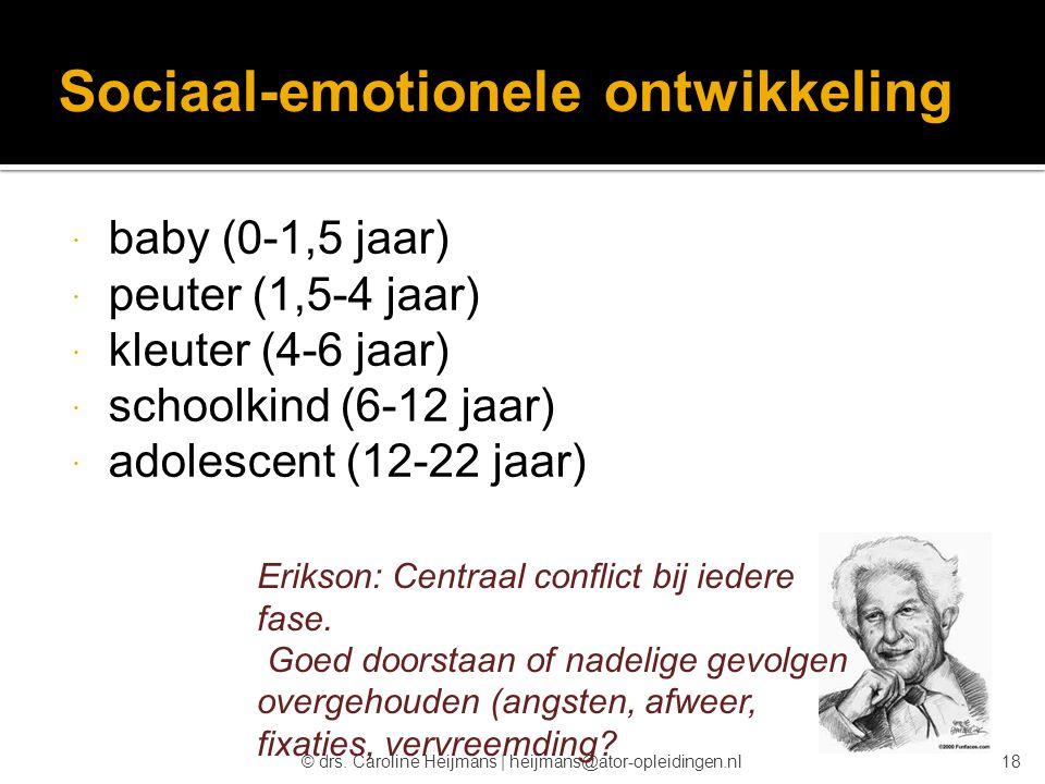 Sociaal-emotionele ontwikkeling