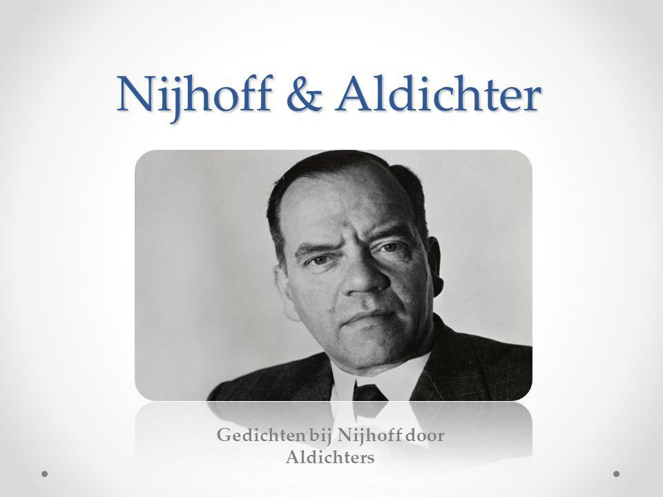 Gedichten bij Nijhoff door Aldichters