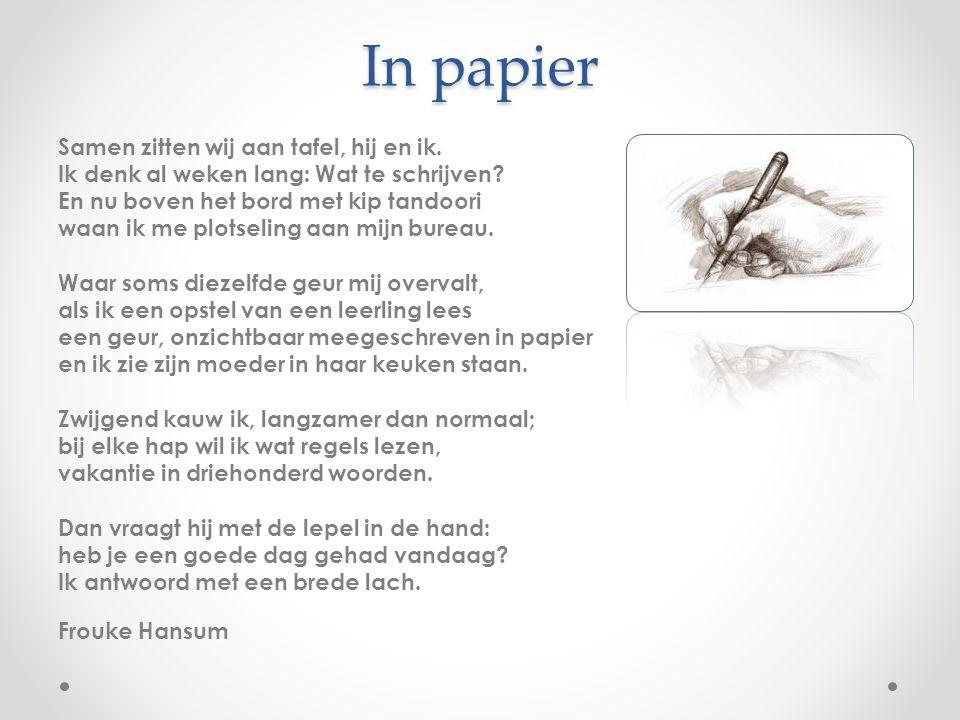 In papier
