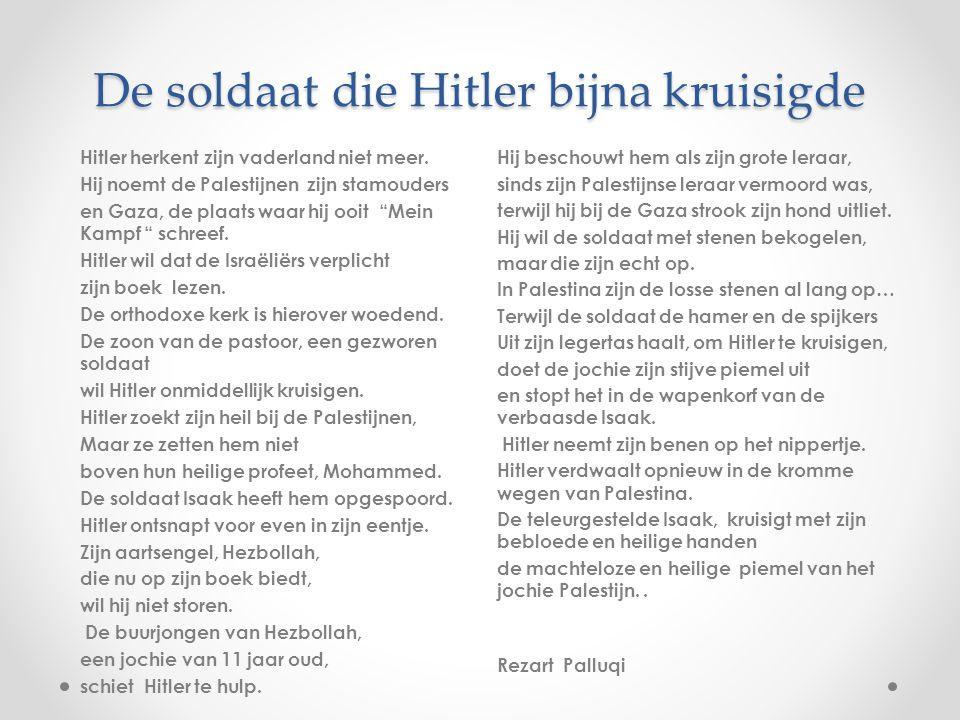 De soldaat die Hitler bijna kruisigde