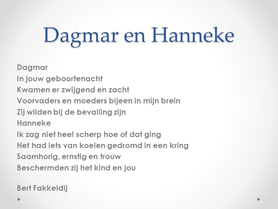 Dagmar en Hanneke
